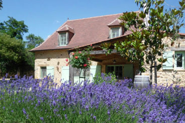 Charming rental with shared heated pool, sauna, jacuzzi and playing area. Close to Le Bugue in the Dordogne.