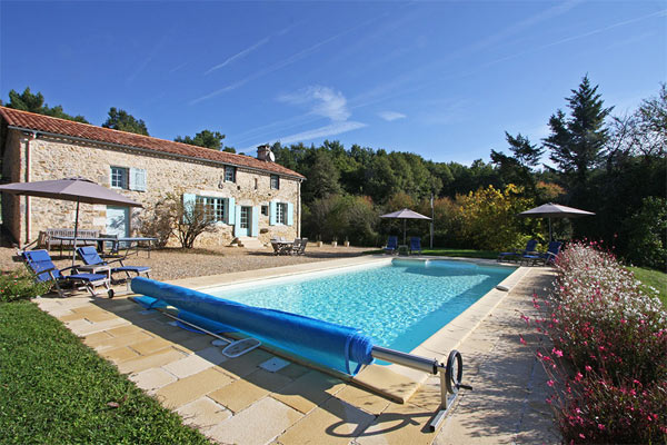 Luxury rental Dordogne with private pool